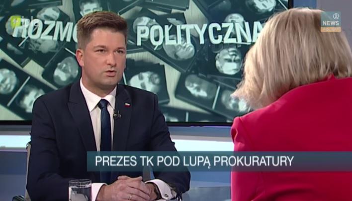 Rozmowa Polityczna w Polsat News 2